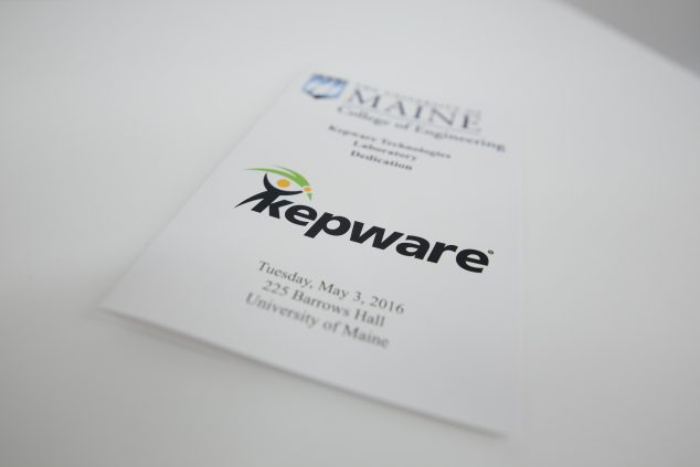 Kepware Lab dedication program cover