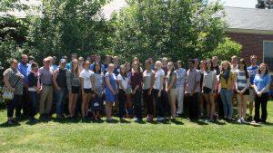 Maine EPSCoR High School Research Internship Program participants